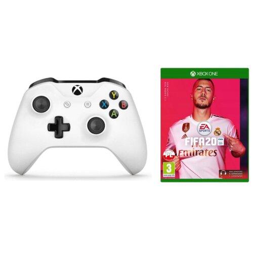 Kontroler MICROSOFT Xbox One S Pad Wireless + FIFA 20