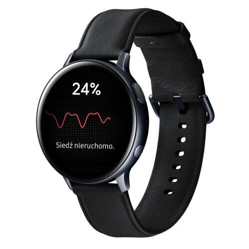 Smartwatch SAMSUNG Galaxy Watch Active 2 SM-R820N 44mm Stal Nierdzewna Czarny