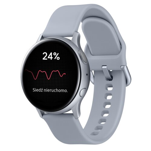 Smartwatch SAMSUNG Galaxy Watch Active 2 SM-R830N 40mm Aluminium Srebrny