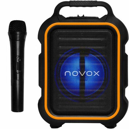 Power audio NOVOX Mobilite Czarno-pomarańczowy