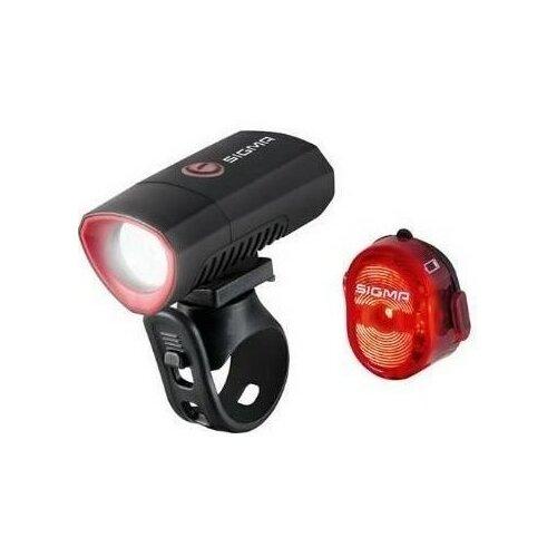 Zestaw lampek rowerowych SIGMA Buster 300 + Nugget II
