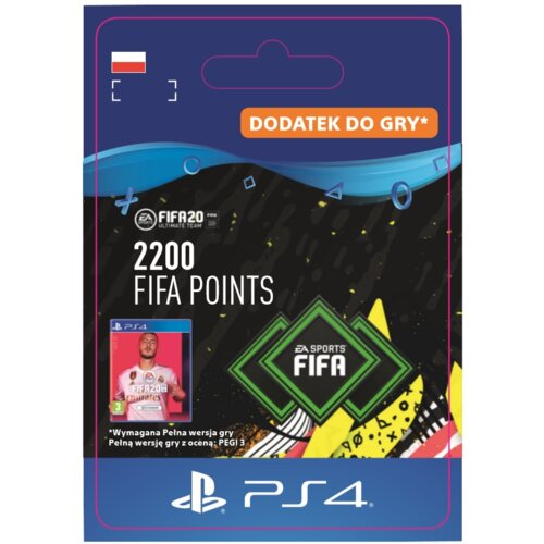Kod aktywacyjny FIFA 20 Ultimate Team - 2200 punktów