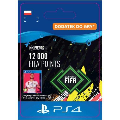 Kod aktywacyjny FIFA 20 Ultimate Team - 12000 punktów