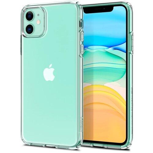 Etui SPIGEN Liquid Crystal do Apple iPhone 11 Przezroczysty
