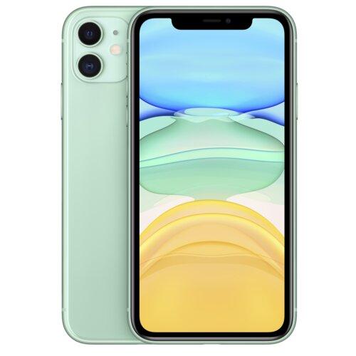 "Smartfon APPLE iPhone 11 256GB 6.1"" Zielony MWMD2PM/A + Ładowarka i słuchawki"