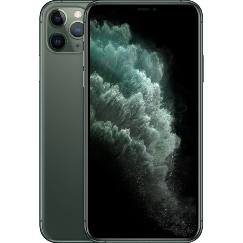 "Smartfon APPLE iPhone 11 Pro Max 64GB 6.5"" Nocna zieleń MWHH2PM/A"
