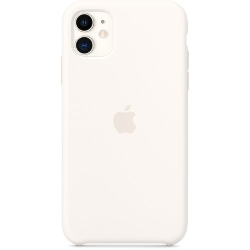 Etui APPLE Silicone Case do iPhone 11 Biały