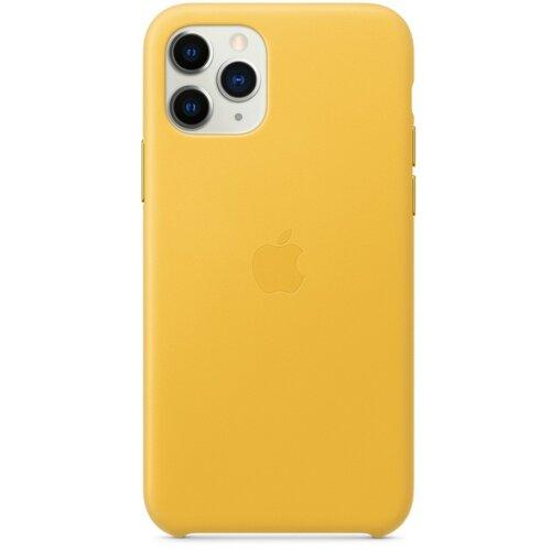 Etui APPLE Leather Case do iPhone 11 Pro Żółty