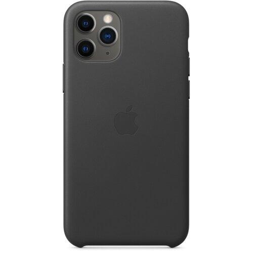 Etui APPLE Leather Case do iPhone 11 Pro Czarny