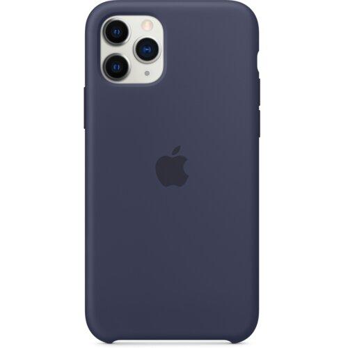 Etui APPLE Silicone Case do iPhone 11 Pro Granatowy