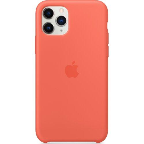 Etui APPLE Silicone Case do iPhone 11 Pro Pomarańczowy