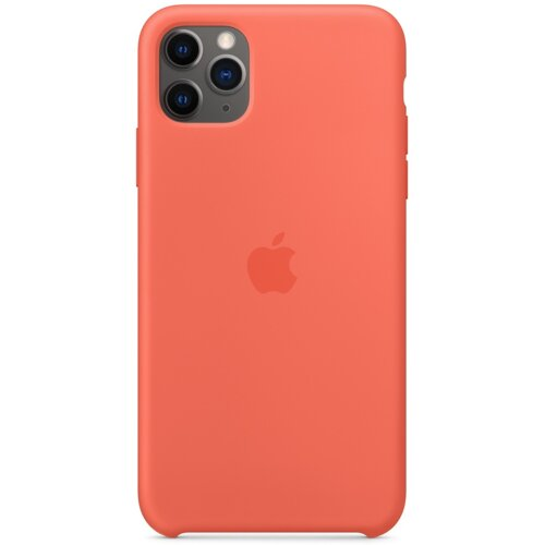 Etui APPLE Silicone Case do iPhone 11 Pro Max Pomarańczowy