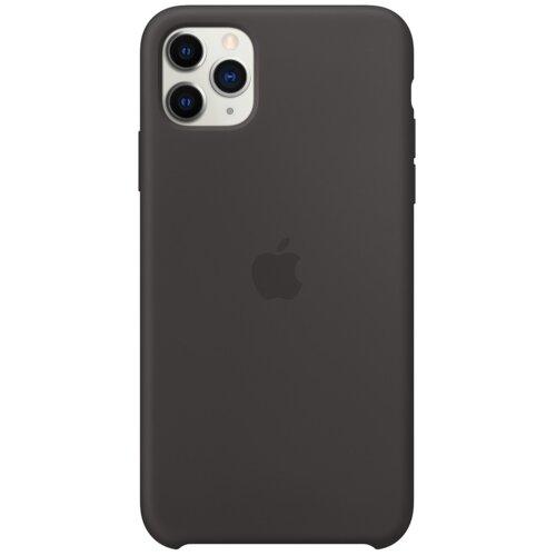 Etui APPLE Silicone Case do iPhone 11 Pro Max Czarny