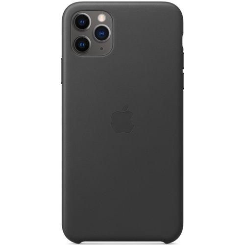 Etui APPLE Leather Case do iPhone 11 Pro Max Czarny