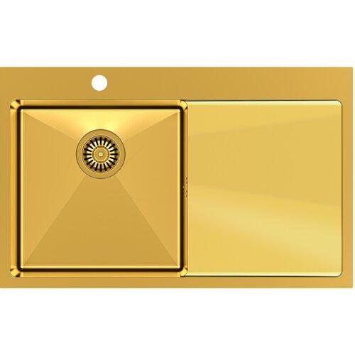 Zlewozmywak QUADRON RUSSEL 111 SteelQ PVD Złoty