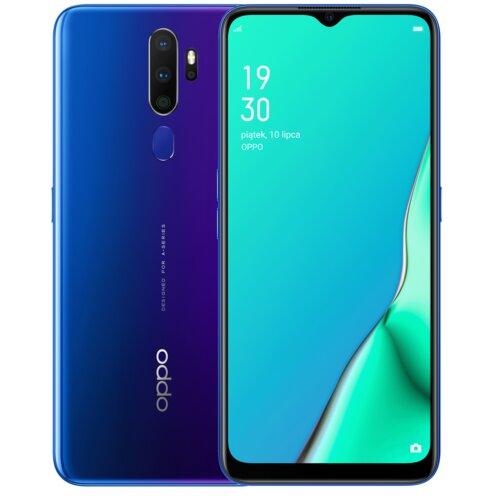 "Smartfon OPPO A9 2020 4/128GB 6.5"" Niebieski CPH1941"