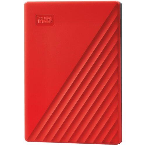 Dysk WD My Passport 4TB HDD Czerwony