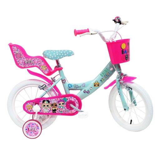 Rower dziecięcy DISNEY Lol Surprise 14 cali dla dziewczynki