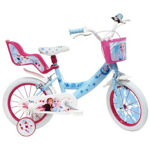 Rower dziecięcy DISNEY Kraina Lodu 2 14 cali dla dziewczynki