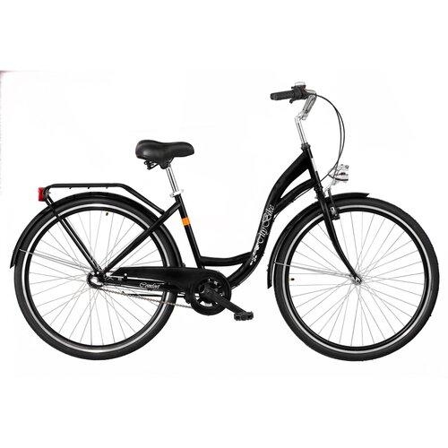 Rower miejski DAWSTAR Citybike S3B 28 cali damski Czarny
