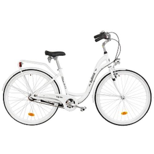 Rower miejski INDIANA Moena A7B 28 cali damski Biały