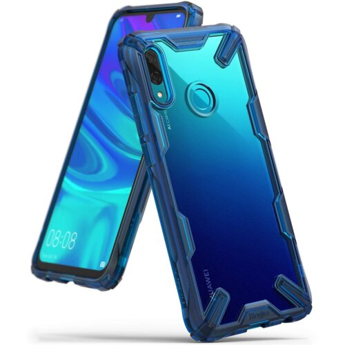 Etui RINGKE Fusion X do Huawei P Smart 2019 Niebieski