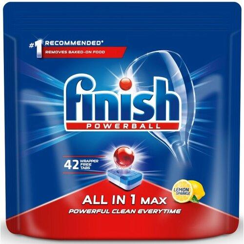 Tabletki do zmywarek FINISH All in 1 Max 42 szt.