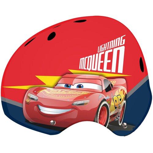 Kask rowerowy DISNEY Auta 3 Czerwony Dla dzieci (rozmiar 53-55)