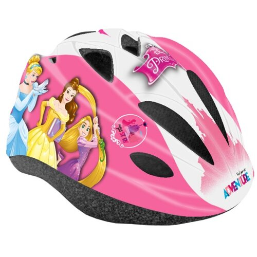 Kask rowerowy DISNEY Księżniczka Różowy Dla dzieci (rozmiar 52-56)