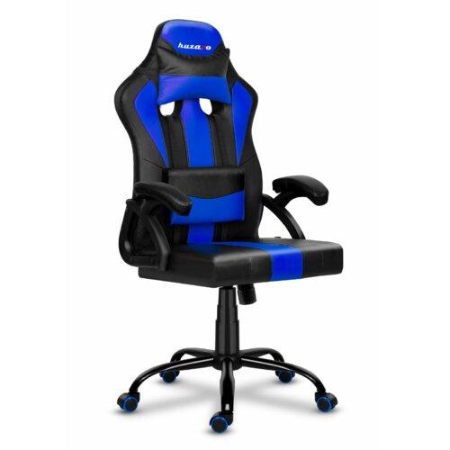 Fotel HUZARO Force 3.0 Czarno-niebieski