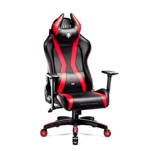 Fotel DIABLO CHAIRS X-One Horn (L) Czarno-czerwony