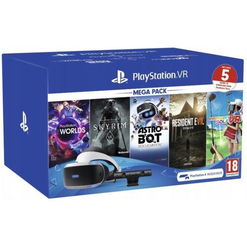 Zestaw SONY Mega Pack 2 Gogle VR + Camera V2 + 5 gier