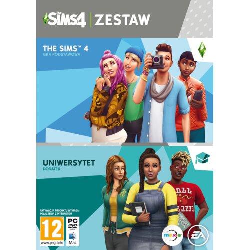 The Sims 4 + Dodatek Uniwersytet Gra PC