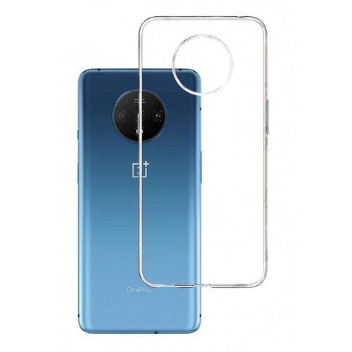 Etui 3MK Clear Case do OnePlus 7T Przezroczysty