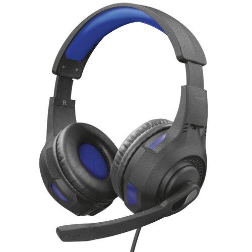 Słuchawki TRUST GXT 307B Ravu Czarno-niebieski