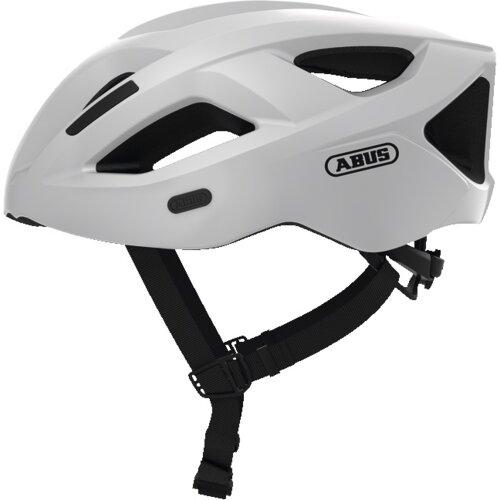 Kask rowerowy ABUS Aduro 2.1 Biały Szosowy (rozmiar M)