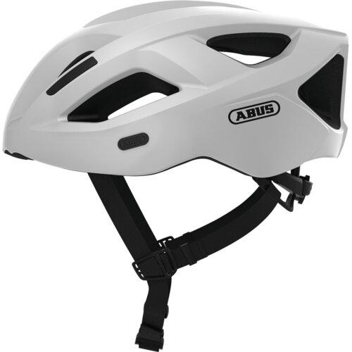 Kask rowerowy ABUS Aduro 2.1 Biały Szosowy (rozmiar L)