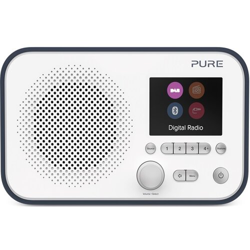 Radio PURE ELAN E3 Biało-czarny