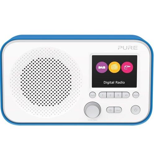 Radio PURE ELAN E3 Biało-niebieski