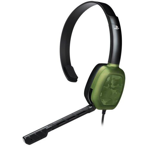 Słuchawki PDP LVL 1 Camo Zielony