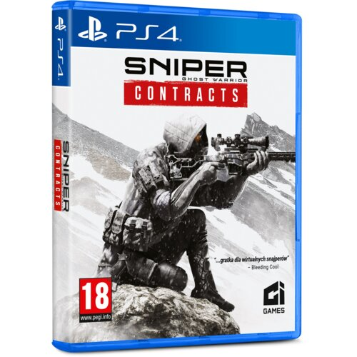 Sniper: Ghost Warrior Contracts Gra PS4 (Kompatybilna z PS5)