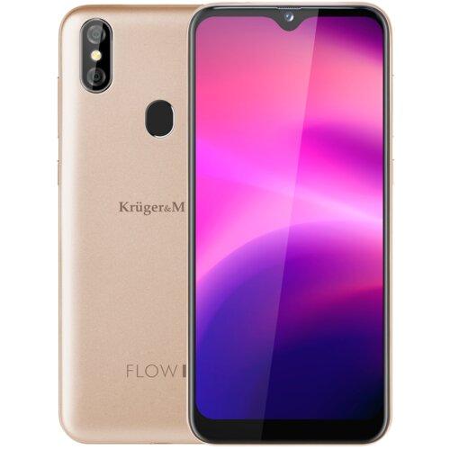 """Smartfon KRUGER&MATZ Flow 7 3/32GB 6.08"""" Złoty KM0485-G"""
