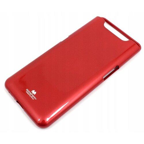 Etui MERCURY Jelly do Samsung Galaxy A80 Czerwony