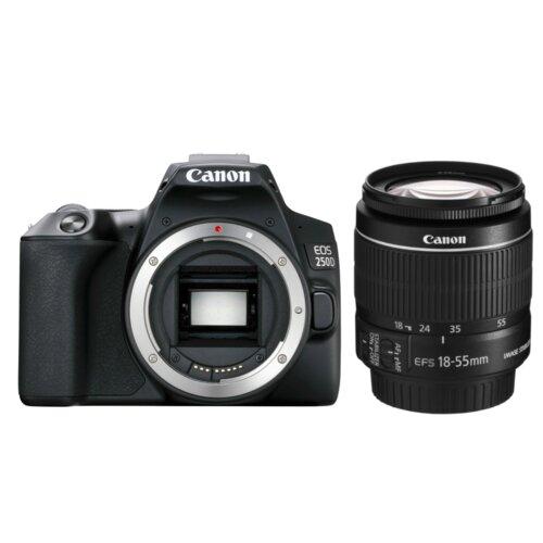 Aparat CANON EOS 250D + Obiektyw EF-S 18-55mm f/4-5.6 IS STM
