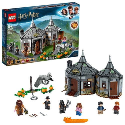 LEGO Harry Potter Chatka Hagrida: na ratunek Hardodziobowi 75947