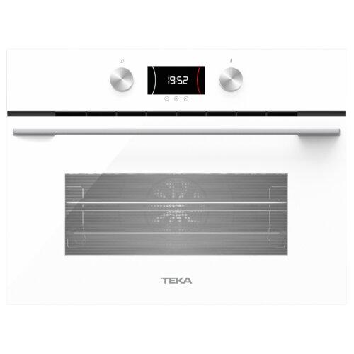 Piekarnik TEKA HLC 8440 C WH Elektryczny z mikrofalą Białe szkło