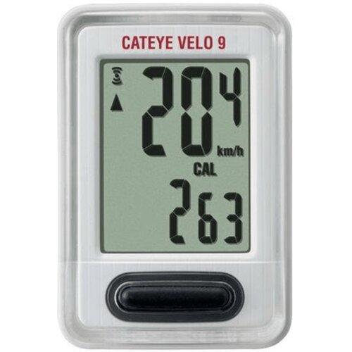 Licznik rowerowy CATEYE Velo 9 CC-VL820 Biały