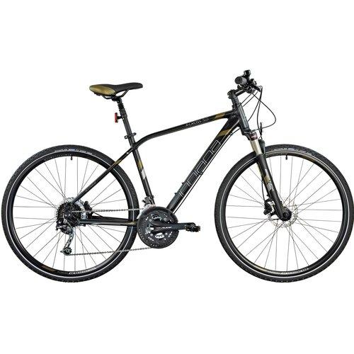Rower crossowy INDIANA X-Cross 5.0 M19 męski Czarno-brązowy