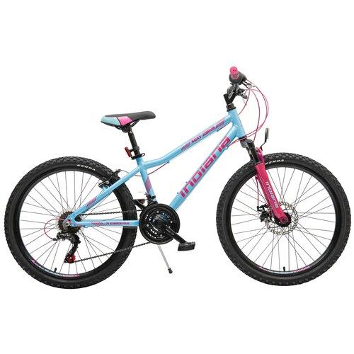 Rower młodzieżowy INDIANA Roxy Jr 24 cale dla dziewczynki Błękitny