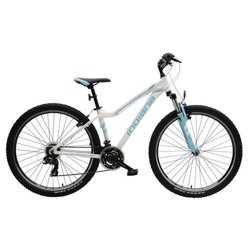 Rower górski MTB INDIANA X-Pulser 1.7 D19 27.5 cala damski Biało-niebieski